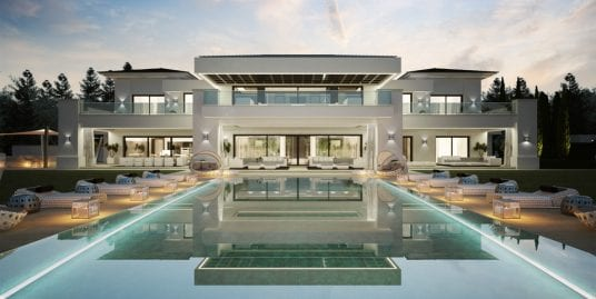 Magnificent luxury Villa project for sale in Sotogrande