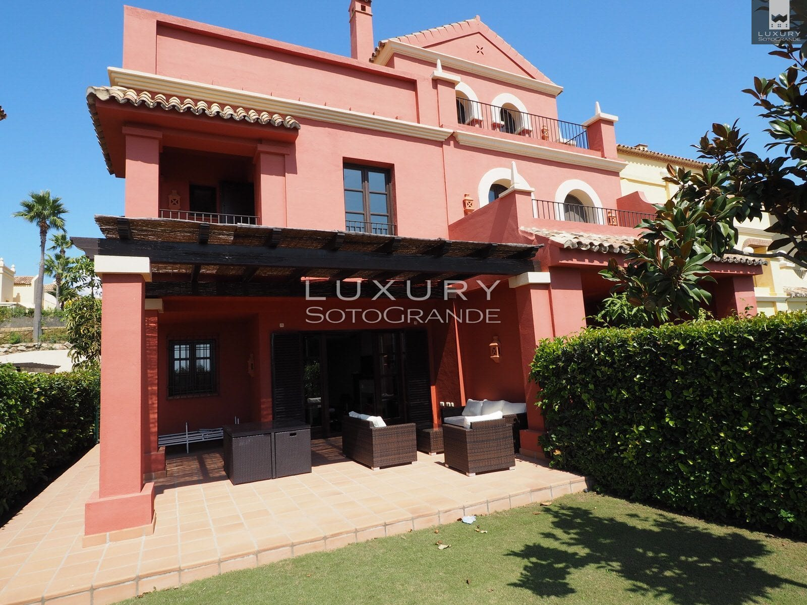 Townhouse for sale in Sotogrande's prestigious Cortijos de la Reserva Copy