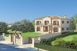Fantastic plot with Architect Ark project plan in Sotogrande for Sale.