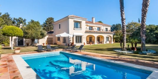 Exceptional Sotogrande Villa For Sale, Nr. Valderrama