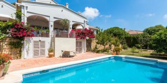 Wonderful family villa with a view, Sotogrande Alto