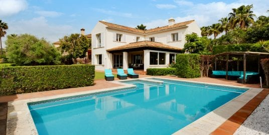 Lovely family villa for holiday rental in Sotogrande Alto