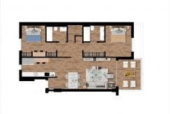 Plan_3_Pier_apartments_Sotogrande_2 ROOMS_ PENTHOUSE