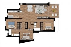 Plan_5_Pier_apartments_Sotogrande_3 ROOMS_ PENTHOUSE