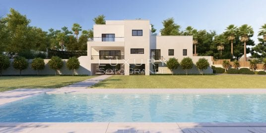 Superb double plot and project for sale in Sotogrande Costa