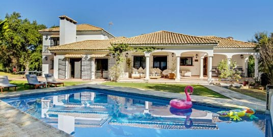 Fantastic family villa for long term rent in Sotogrande