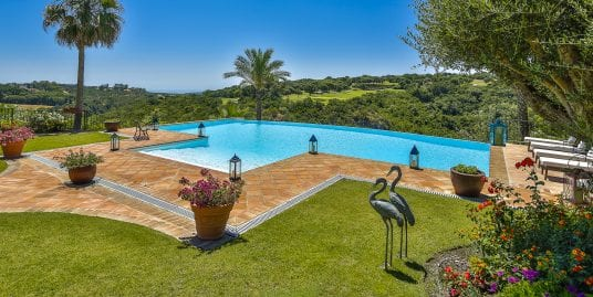 Protected: Luxurious villa with spectacular views for rent in Sotogrande Alto