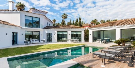 New build contemporary villa for sale, Sotogrande Costa