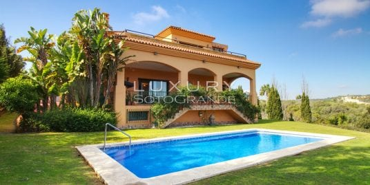 Fabulous villa for sale with spectacular views, Sotogrande Alto