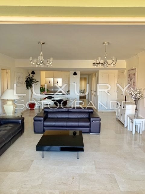 Lovely 3 bed apartment for rent in Marina Sotogrande