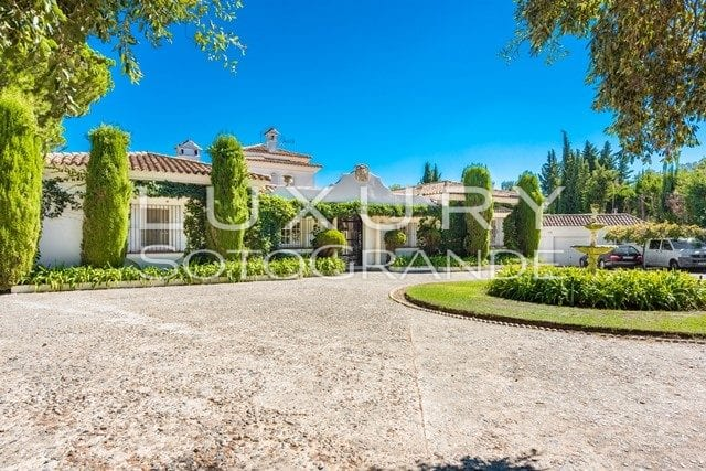 Traditional villa for sale in Sotogrande Alto, Sotogrande
