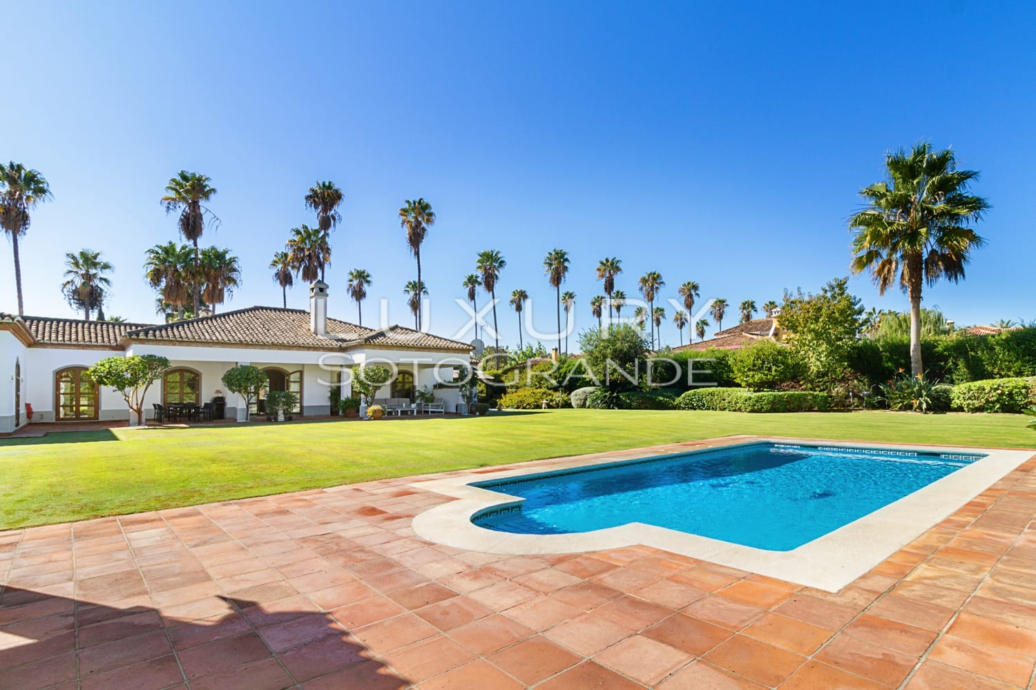 Stunning family villa for rent,  Paseo del Parque, Sotogrande