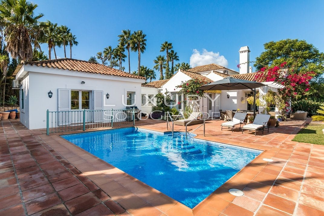 Charming 4 bedroom villa for holiday rental , Sotogrande Alto
