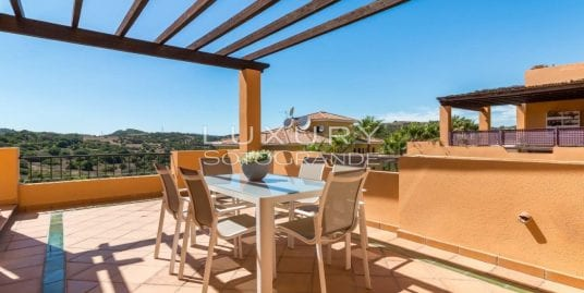 Beautiful duplex penthouse for sale in Los Gazules, Sotogrande Alto
