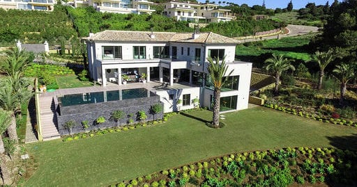 Stunning front line villa with spectacular views for rent , La Reserva