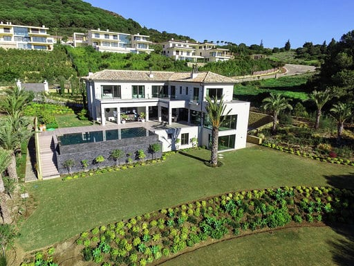 Stunning front line villa with spectacular views for sale , La Reserva