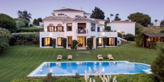 Stunning villa with majestic views over Almenara Golf Course, Sotogrande